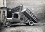 Camionnette entreprise de terrassement
