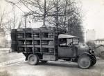 Camionnette tonnelier à Lyon