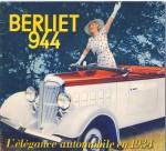 Couverture de dépliant, Berliet 944