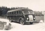 Autocar sur châssis cabine avancée