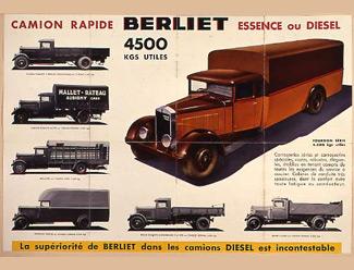 Camion rapide Berliet