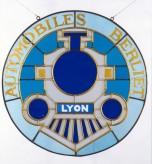 Vitrail - Logo Berliet