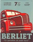 Dépliant GLR, 1949