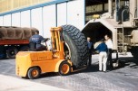 T100 n°2 à Ouargla, changement de pneu