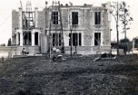 La villa en cours de construction