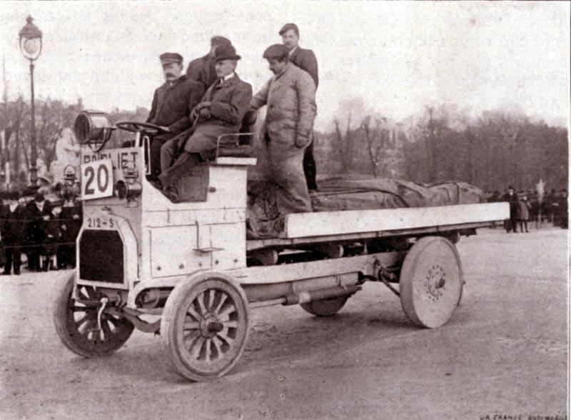 Berliet concours de 1906