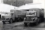 Tracteurs routiers Unic ZU100 et ZU120 en 1954