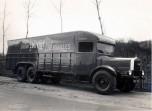 Fourgon Unic 3 essieux type CD3 de 1932