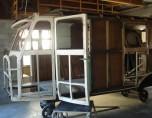 restauration de la structure par les élèves de l'école Boisard de Vaulx en Velin
