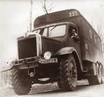 Camion Willème diesel double essieu arrière