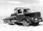 Camion Willème W6 au Sahara