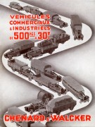 Publicité Chenard & Walcker de 1931