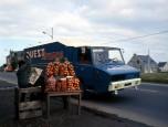 Stradair fourgon Ouest-France en tournée