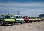Le stradair dans sa gamme de coloris