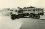 GBO15P 6x6 long essais Touggourt Bir Djedid 1959 passage d'une dune