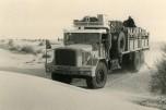 GBO15P 6x6 long essais Touggourt Bir Djedid 1959 sur la piste