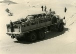 GBO15P 6x6 long essais Touggourt Bir Djedid 1959 sur le trajet