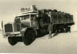 GBO15P 6x6 long essais Touggourt Bir Djedid 1959 passage une dune