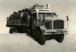 GBO15P 6x6 long Touggourt Bir Djedid 1959 franchissement difficile