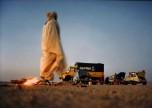 Raid-Afrique1973 le feu de camp du soir