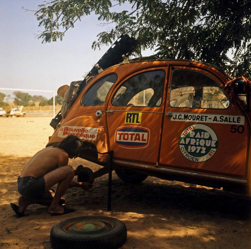le raid afrique citro u00ebn 1973