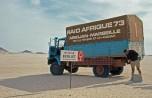 raid Afrique1973 le L64 près de la balise Mission Tchad
