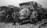 Les tracteurs Latil sur le Front en 1917