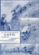 Publicité Latil publiée en 1917