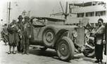 équipe des sans Secousse - débarquement à Alger en février 1930