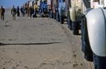 Mission-Tchad-arrêt de la colonne à Larjeau