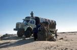mission Tchad pose de la balise Berliet  13