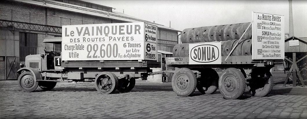 Somua tracteur type KDB – 1930