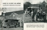 Renault fourgon magasin 1400 kg publicité 1952