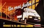nouvelle gamme RVI B70 - publicité de 1982