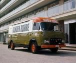 Saviem nouveau fourgon SB2 - Belgique 1969