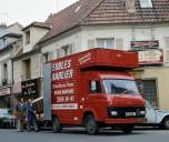 Saviem nouveau SB2 transport de meubles-1975