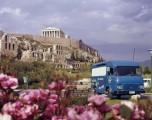 Saviem fourgon SG2 à Athènes - 1970