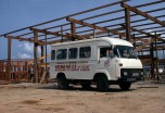 Saviem SG2 minibus en Cote-d'Ivoire - 1977