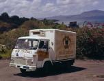 Saviem SG2 frigo épicier en Martinique - 1971