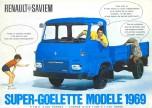 Saviem nouveau SG2 publicité de 1969