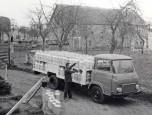 Saviem SG5 plateau laitier de 1973