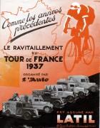 couverture de publicité-Latil-1937