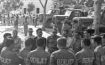 08 Mission Ténéré 1960 Paul Berliet et les chauffeurs à Fort Lamy