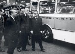 10 Salon de l' Auto 1966 Paul Berliet et le Général De Gaulle