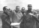 12 Paul Berliet et Fidel Castro sur le site de Mariel à Cuba 1970