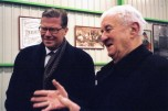 18 Paul Berliet et Leif Johansson PDG de AB Volvo en 2005
