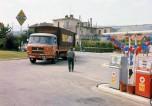 Saviem JM240 pose station Caltex-Texaco 1966