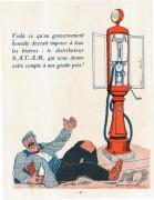 pompe SATAM  double jaugeur 1925