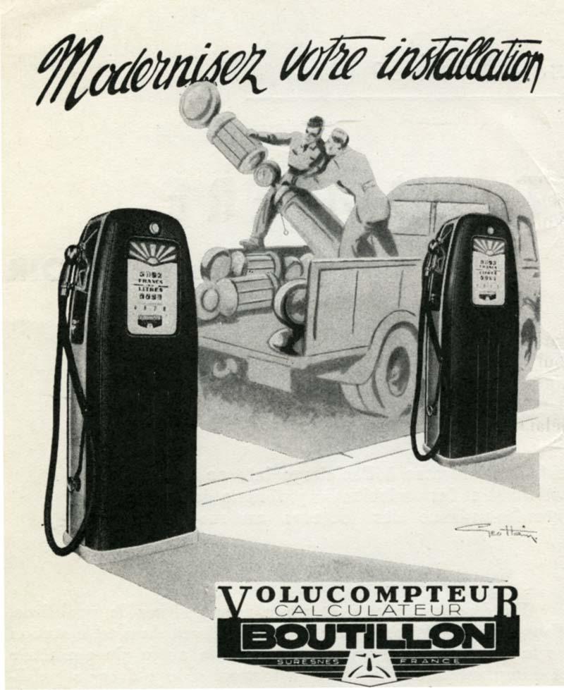 << Le plein SVP !>> Un peu d'histoire Volucompteur-Boutillon-1952