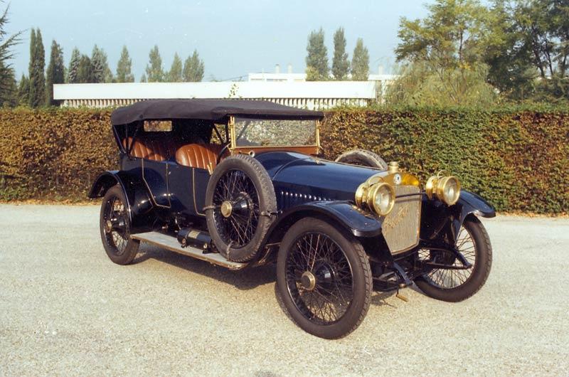 Berliet AI9 1911 Torpédo coll Fondation